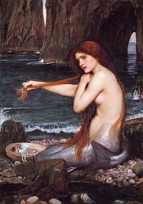 A Mermaid by J.W. Waterhouse