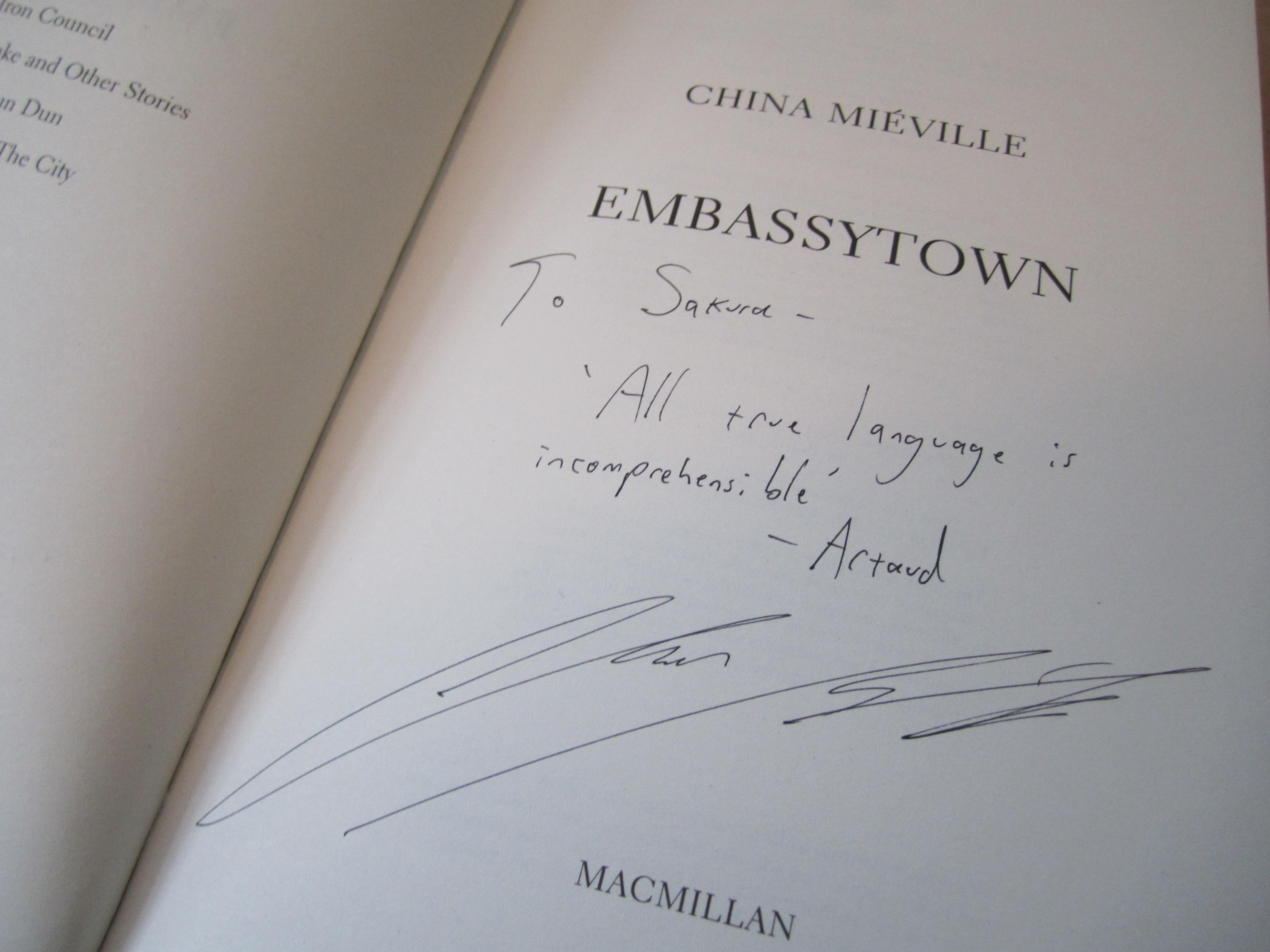 Book - http://chasingbawa.wordpress.com/tag/china-mieville/