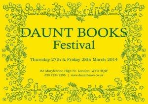 Daunt Books Festival 2014