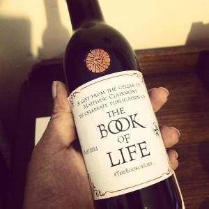Book of Life wine